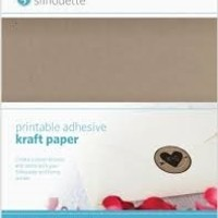 Silhouette Silhouette Printbaar zelfklevend kraft papier