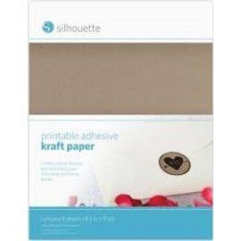 Silhouette Printbaar zelfklevend kraft papier