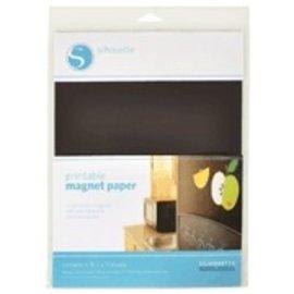 Silhouette printbaar magneet papier