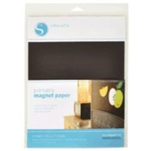 Silhouette Silhouette printbaar magneet papier