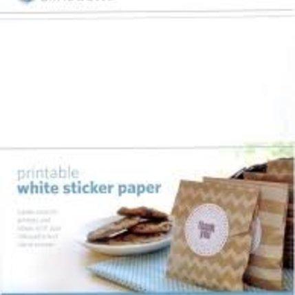 Silhouette Silhouette Printbaar zelfklevend wit papier