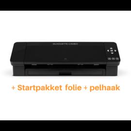 Silhouette Cameo 4 zwart + startpakket