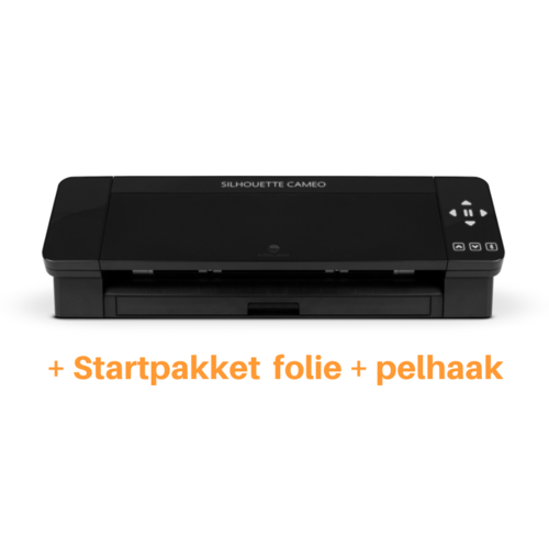 Silhouette Silhouette Cameo 4 zwart + startpakket
