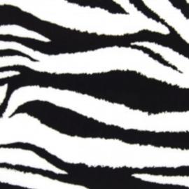 Fashion flexfolie zebra