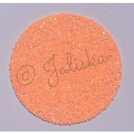 Glitterfolie fluor oranje