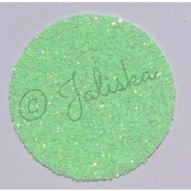 Glitterfolie fluor groen