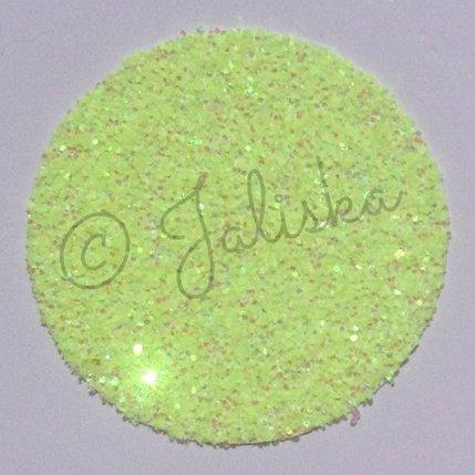 Glitterfolie fluor geel