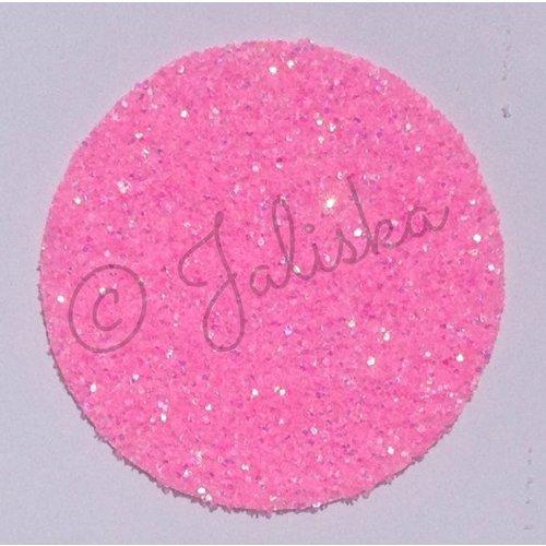 Glitterfolie fluor roze