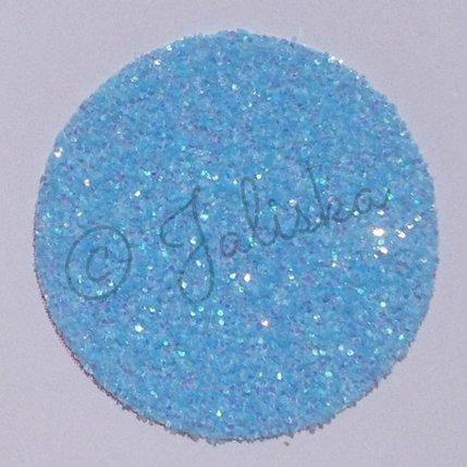 Glitterfolie fluor blauw