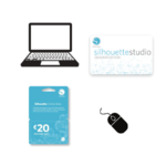 Silhouette software & download kaarten