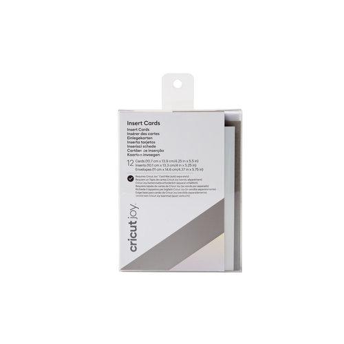 Cricut Cricut Joy Insert Cards Grijs/ mat Zilver holografisch