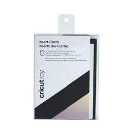 Cricut Joy Insert Cards Zwart/Zilver holografisch