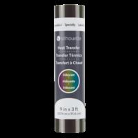 Silhouette Silhouette Heat Transfer Iridescent - Multicolor 9 inch