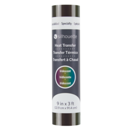 Silhouette Heat Transfer Iridescent - Multicolor