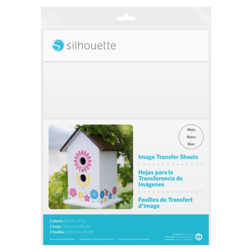 Silhouette Silhouette Image Transfer Sheets
