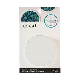 Cricut Ceramic Coasters  | Onderzetters rond