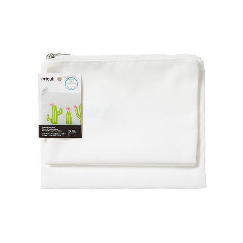 Cricut Cricut Cosmetic Bag Blanks White | Toilettassen wit