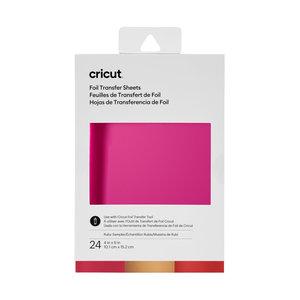 Cricut Cricut Foil Transfer Sheets Sampler Ruby   2008717