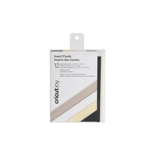 Cricut Cricut Joy Insert Cards Neutrals Sampler  | 2007253
