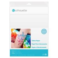 Silhouette Silhouette printbaar tatoeage papier