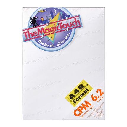 TheMagicTouch CPM 6.2 A4R Transferpapier- harde materialen
