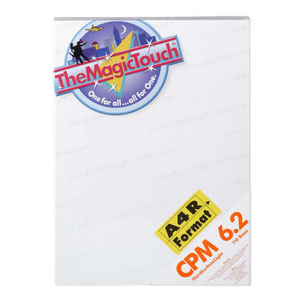 TheMagicTouch CPM 6.2 A4R Transferpapier- harde materialen (1 st)