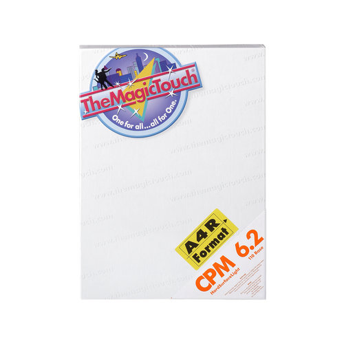 TheMagicTouch CPM 6.2  A4R Transferpapier - harde materialen (5 st)