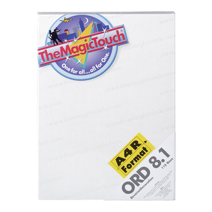 TheMagicTouch ORD 8.1 A4R Transferpapier- glas en acryl (5 st)