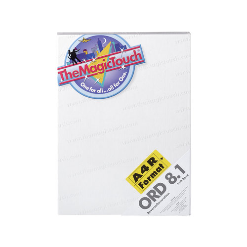 TheMagicTouch ORD 8.1  A4R Transferpapier - glas en acryl (5 st)