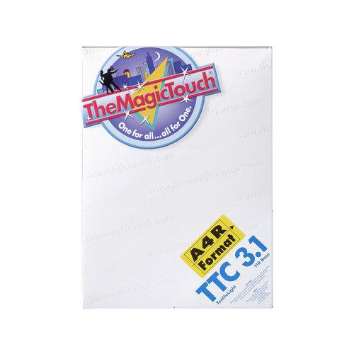 TheMagicTouch TTC 3.1 A4R Transferpapier - wit en licht textiel  (5 st)