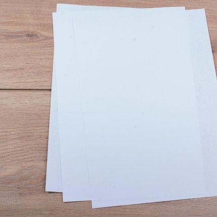 TheMagicTouch CL Media Zelfklevende sticker glans wit (SPF20) A4  (10st)