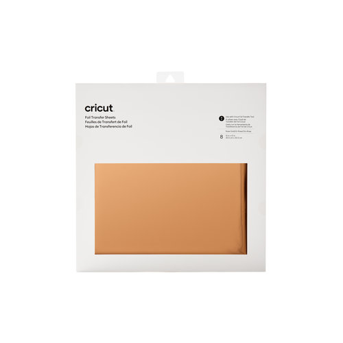 Cricut Cricut Foil Transfer Sheets Rose Gold   2008720