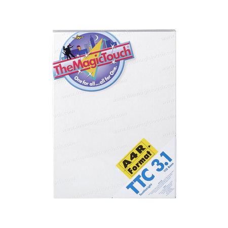 TTC en TTC+ Transferpapier voor wit textiel en stoffen