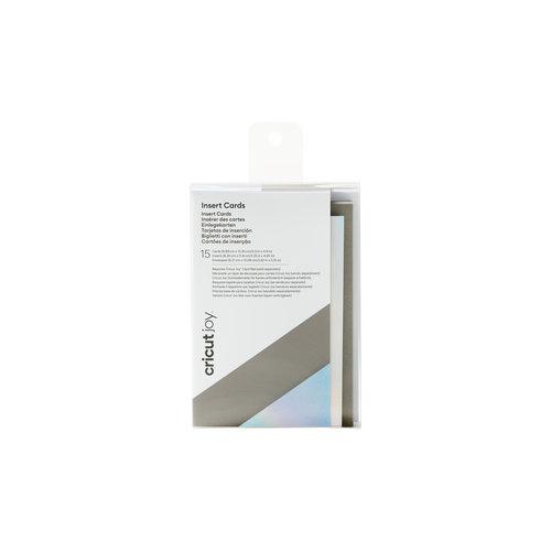 Cricut Cricut Joy Insert Cards Small Grey/Silver Holographic | 2008795