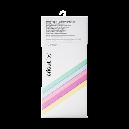 Cricut Cricut Joy Smart Paper Sticker Cardstock Pastels Sampler | 2008872