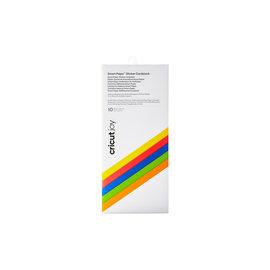 Cricut Joy Smart Paper Sticker Cardstock Bright Bows Sampler