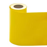 Statische raamfolie geel