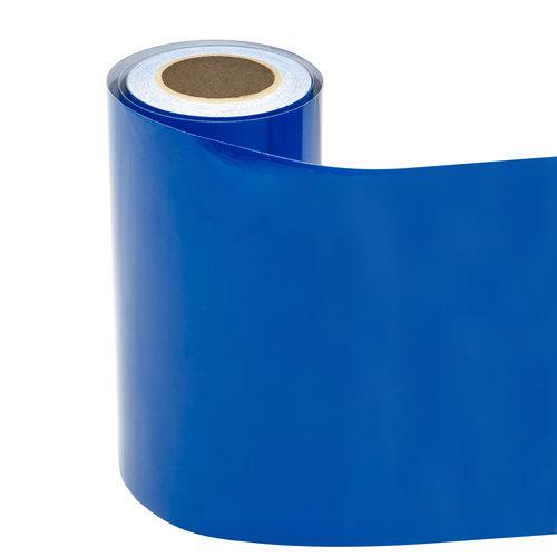 Statische raamfolie blauw