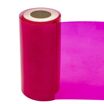 Statische raamfolie transparant roze