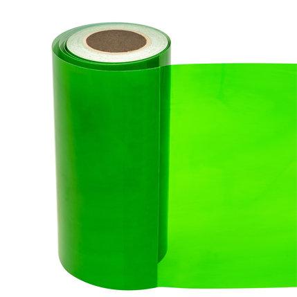 Statische raamfolie transparant helder groen