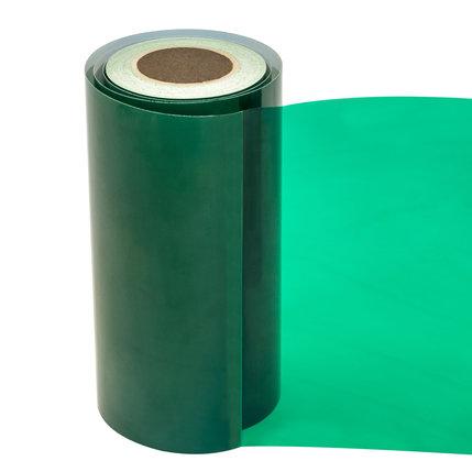 Statische raamfolie transparant mos groen