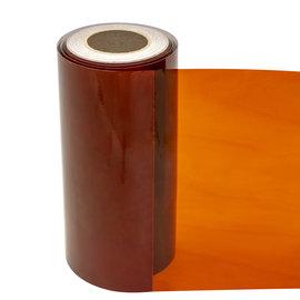 Statische raamfolie transparant bruin