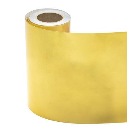 Statische raamfolie goud