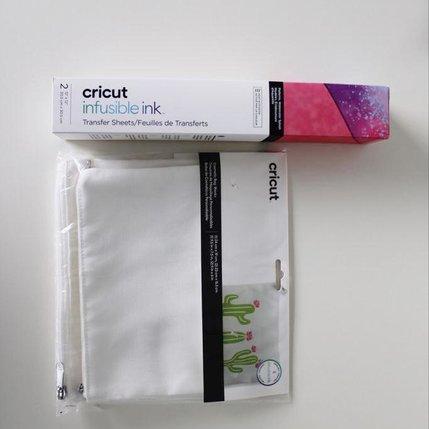 KreaDoe pakket Toilettas + Infusible Ink Sheets