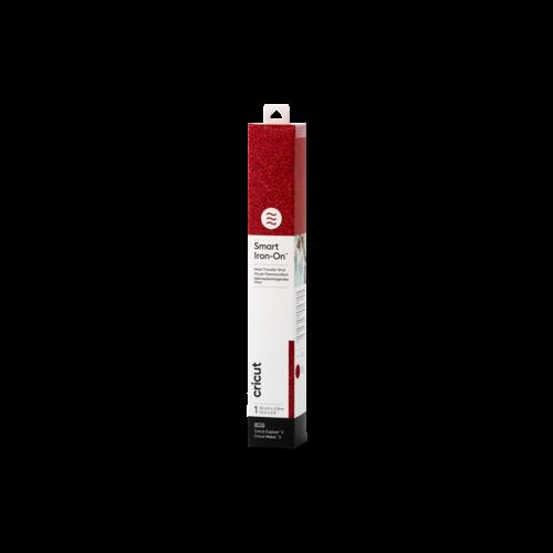 Cricut Cricut Smart Iron-On (Flexfolie) 33 x91cm  Glitter Red | 2008675