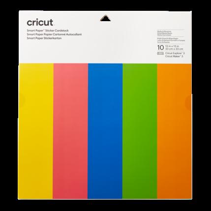 Cricut Cricut Smart Sticker Cardstock 33 x 33 cm Bright Bow | 2008318