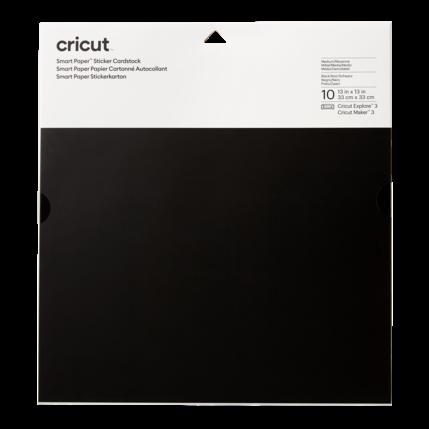 Cricut Cricut Smart Sticker Cardstock 33 x 33 cm Black | 2008316