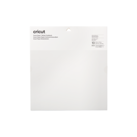 Cricut Smart Sticker Cardstock 33 x 33 cm White | 2008317