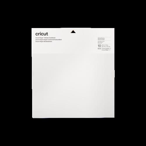 Cricut Cricut Smart Sticker Cardstock 33 x 33 cm White | 2008317