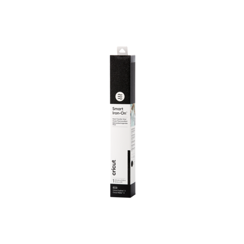 Cricut Cricut Smart Iron-On (Flexfolie) 33 x91cm  Glitter Black | 2008672